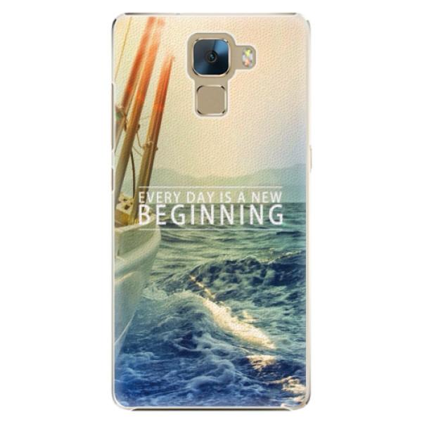 Plastové puzdro iSaprio - Beginning - Huawei Honor 7