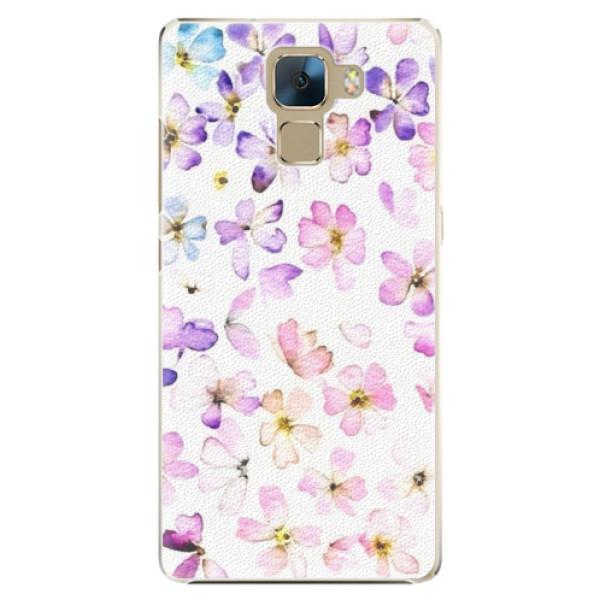 Plastové puzdro iSaprio - Wildflowers - Huawei Honor 7