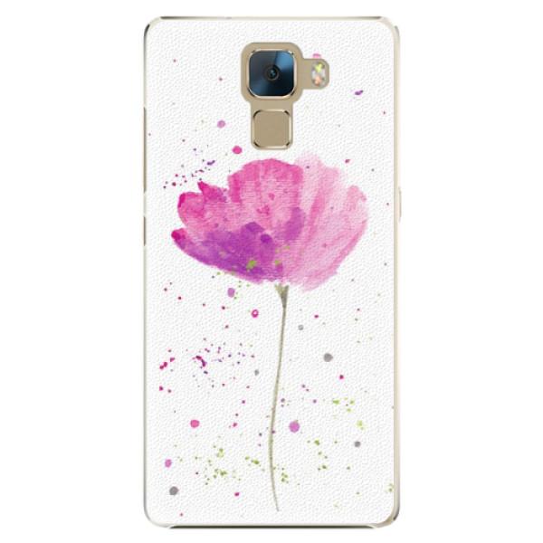 Plastové puzdro iSaprio - Poppies - Huawei Honor 7