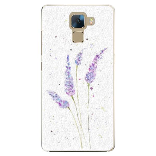 Plastové puzdro iSaprio - Lavender - Huawei Honor 7