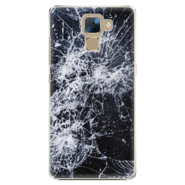Plastové puzdro iSaprio - Cracked - Huawei Honor 7