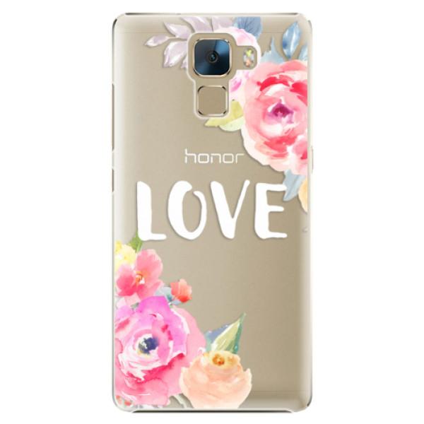 Plastové puzdro iSaprio - Love - Huawei Honor 7