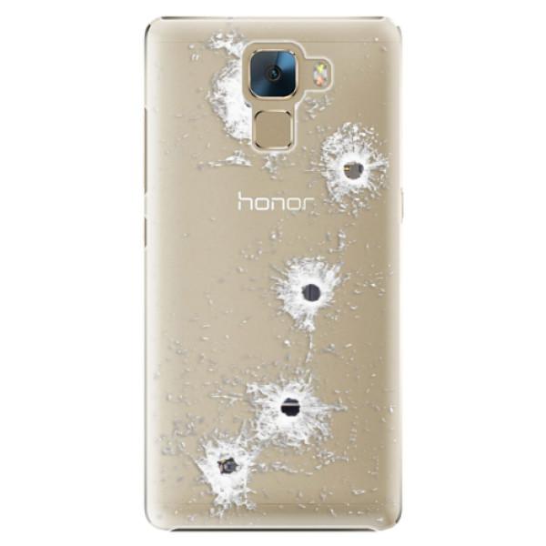 Plastové puzdro iSaprio - Gunshots - Huawei Honor 7