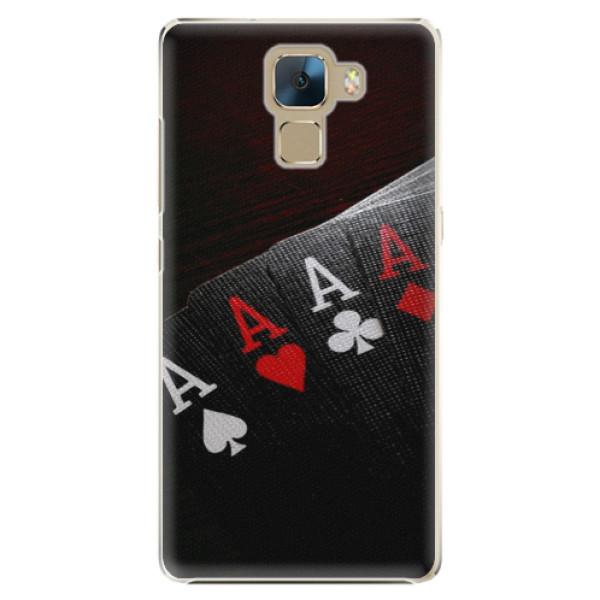 Plastové puzdro iSaprio - Poker - Huawei Honor 7