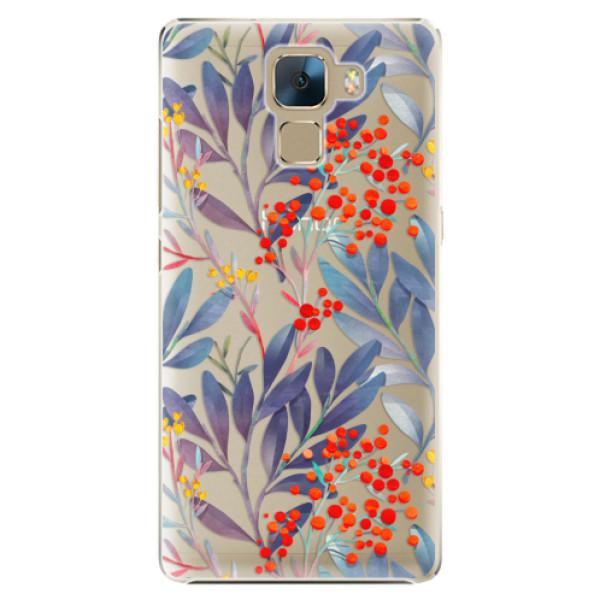 Plastové puzdro iSaprio - Rowanberry - Huawei Honor 7