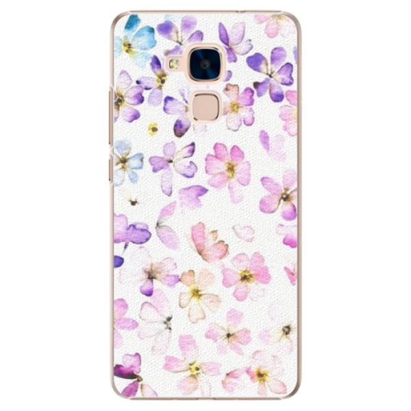 Plastové puzdro iSaprio - Wildflowers - Huawei Honor 7 Lite