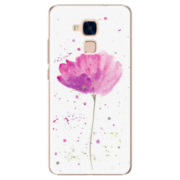 Plastové puzdro iSaprio - Poppies - Huawei Honor 7 Lite