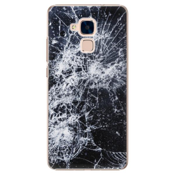 Plastové puzdro iSaprio - Cracked - Huawei Honor 7 Lite