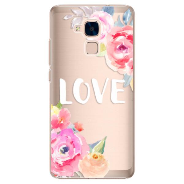 Plastové puzdro iSaprio - Love - Huawei Honor 7 Lite
