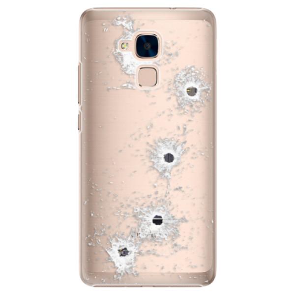 Plastové puzdro iSaprio - Gunshots - Huawei Honor 7 Lite