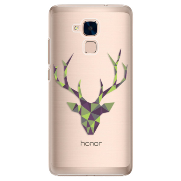 Plastové puzdro iSaprio - Deer Green - Huawei Honor 7 Lite