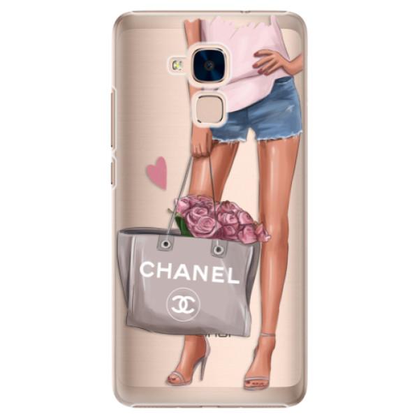 Plastové puzdro iSaprio - Fashion Bag - Huawei Honor 7 Lite