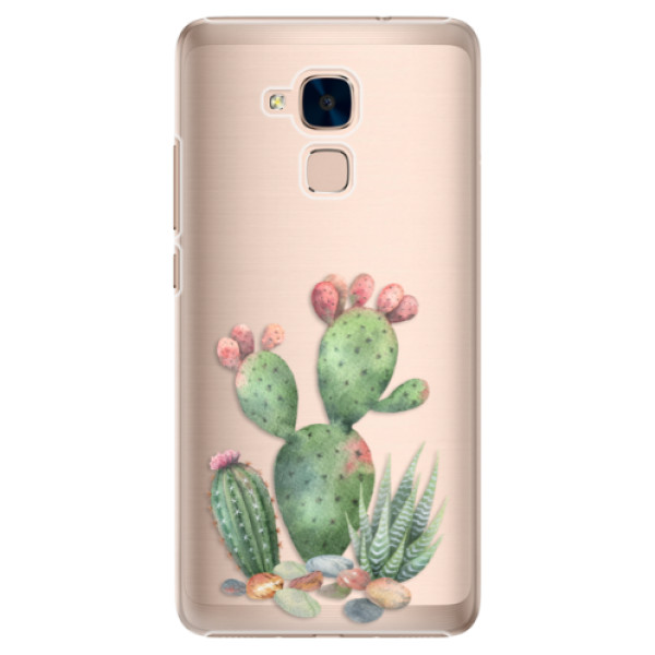 Plastové puzdro iSaprio - Cacti 01 - Huawei Honor 7 Lite