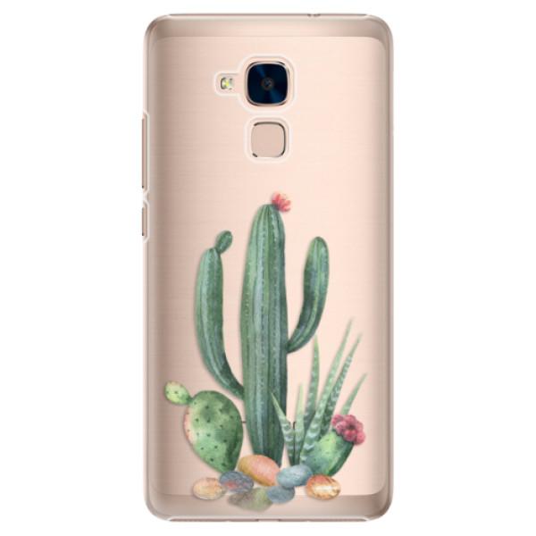 Plastové puzdro iSaprio - Cacti 02 - Huawei Honor 7 Lite