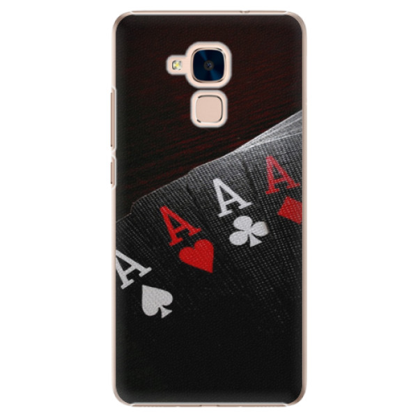 Plastové puzdro iSaprio - Poker - Huawei Honor 7 Lite
