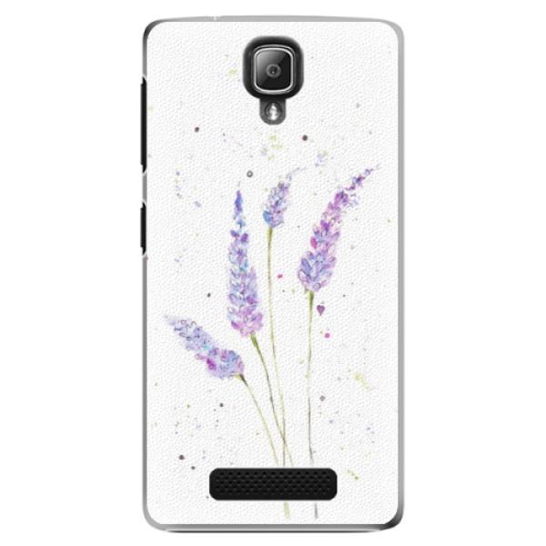 Plastové puzdro iSaprio - Lavender - Lenovo A1000