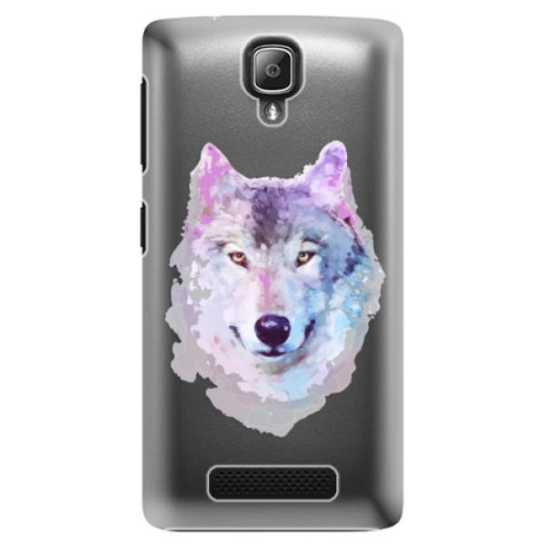 Plastové puzdro iSaprio - Wolf 01 - Lenovo A1000