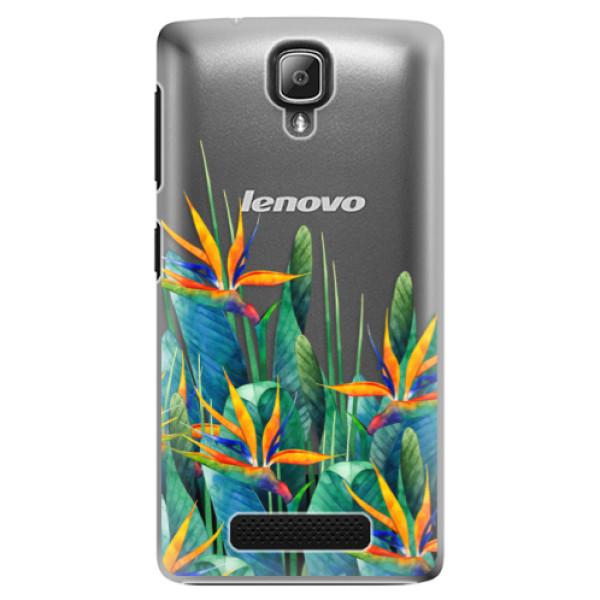 Plastové puzdro iSaprio - Exotic Flowers - Lenovo A1000