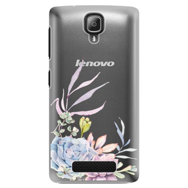 Plastové puzdro iSaprio - Succulent 01 - Lenovo A1000