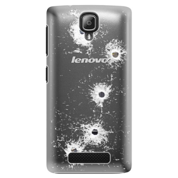 Plastové puzdro iSaprio - Gunshots - Lenovo A1000