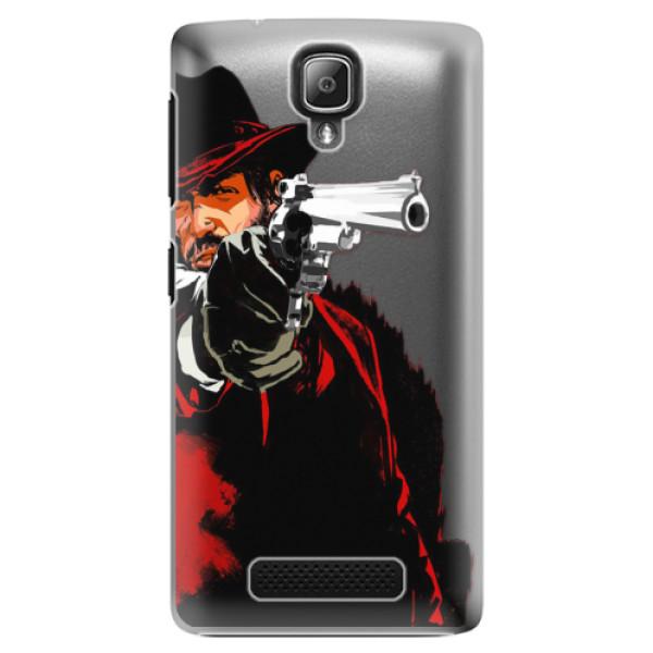 Plastové puzdro iSaprio - Red Sheriff - Lenovo A1000