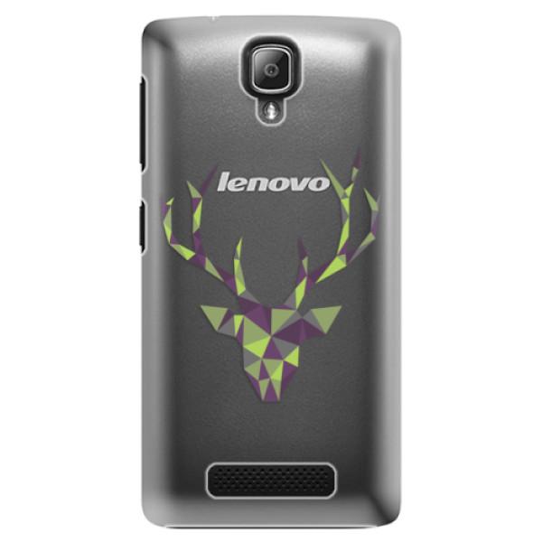 Plastové puzdro iSaprio - Deer Green - Lenovo A1000