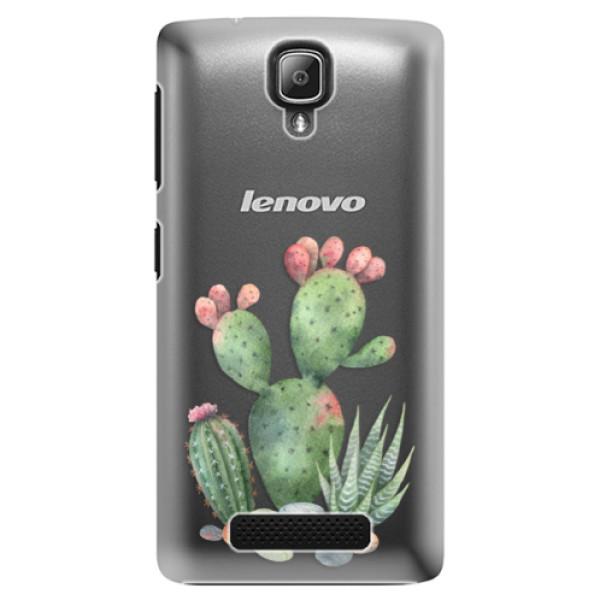 Plastové puzdro iSaprio - Cacti 01 - Lenovo A1000