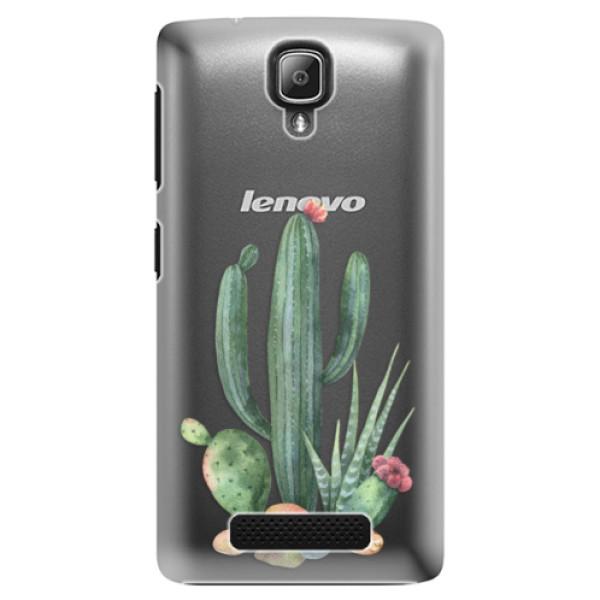 Plastové puzdro iSaprio - Cacti 02 - Lenovo A1000