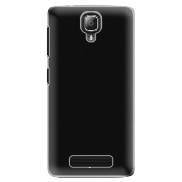 Plastové puzdro iSaprio - 4Pure - černý - Lenovo A1000