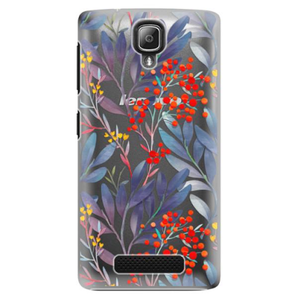 Plastové puzdro iSaprio - Rowanberry - Lenovo A1000