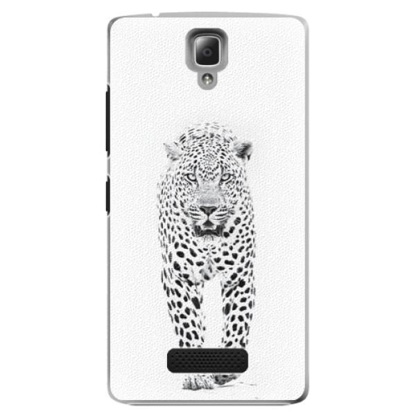 Plastové puzdro iSaprio - White Jaguar - Lenovo A2010
