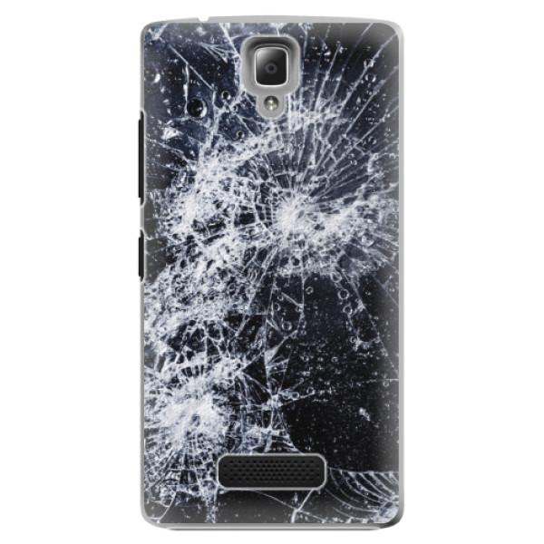 Plastové puzdro iSaprio - Cracked - Lenovo A2010