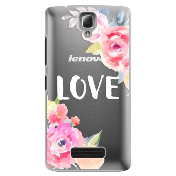 Plastové puzdro iSaprio - Love - Lenovo A2010