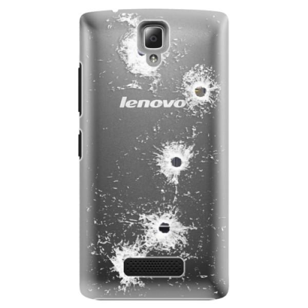Plastové puzdro iSaprio - Gunshots - Lenovo A2010