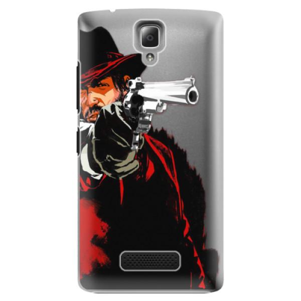 Plastové puzdro iSaprio - Red Sheriff - Lenovo A2010