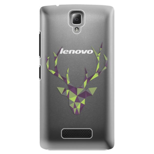 Plastové puzdro iSaprio - Deer Green - Lenovo A2010