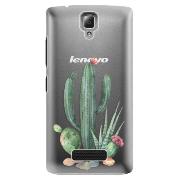 Plastové puzdro iSaprio - Cacti 02 - Lenovo A2010