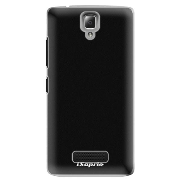 Plastové puzdro iSaprio - 4Pure - černý - Lenovo A2010