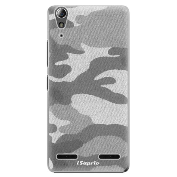 Plastové puzdro iSaprio - Gray Camuflage 02 - Lenovo A6000 / K3