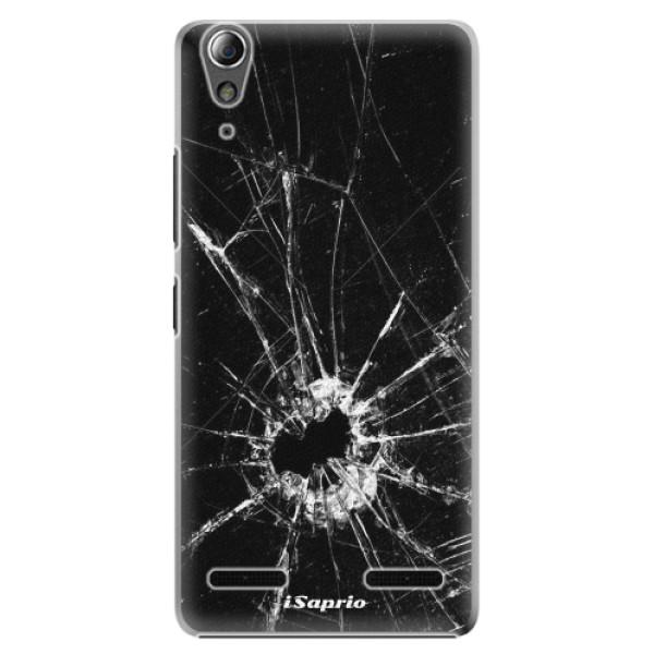 Plastové puzdro iSaprio - Broken Glass 10 - Lenovo A6000 / K3
