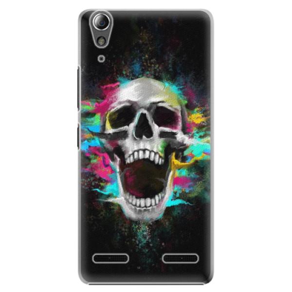 Plastové puzdro iSaprio - Skull in Colors - Lenovo A6000 / K3