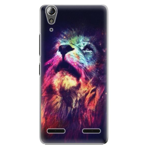 Plastové puzdro iSaprio - Lion in Colors - Lenovo A6000 / K3