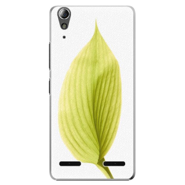 Plastové puzdro iSaprio - Green Leaf - Lenovo A6000 / K3