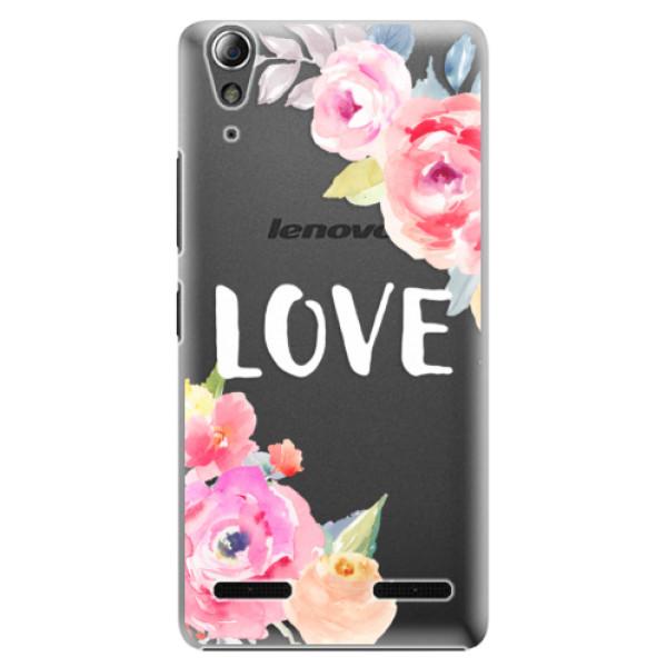 Plastové puzdro iSaprio - Love - Lenovo A6000 / K3