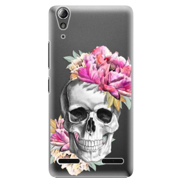 Plastové puzdro iSaprio - Pretty Skull - Lenovo A6000 / K3