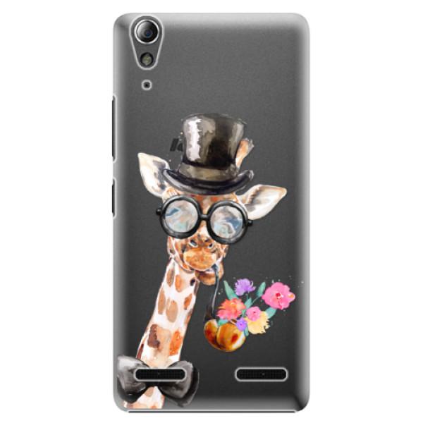 Plastové puzdro iSaprio - Sir Giraffe - Lenovo A6000 / K3