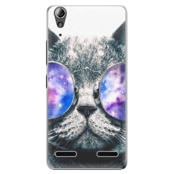 Plastové puzdro iSaprio - Galaxy Cat - Lenovo A6000 / K3