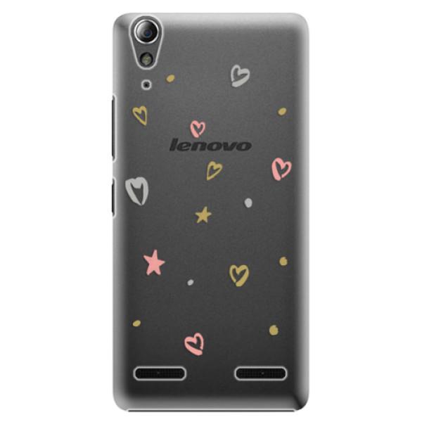 Plastové puzdro iSaprio - Lovely Pattern - Lenovo A6000 / K3