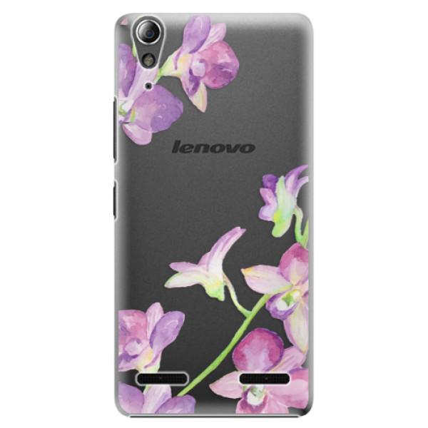 Plastové puzdro iSaprio - Purple Orchid - Lenovo A6000 / K3
