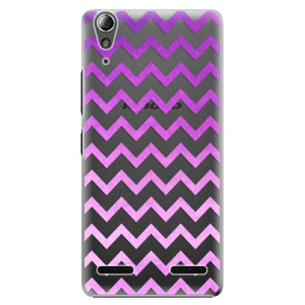 Plastové puzdro iSaprio - Zigzag - purple - Lenovo A6000 / K3
